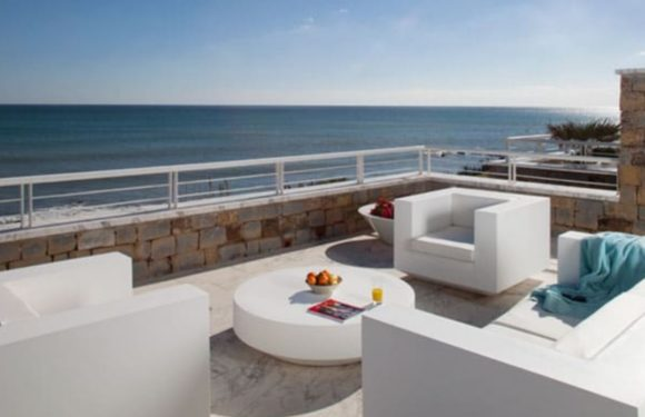 New beach front apartments for sale in Casares