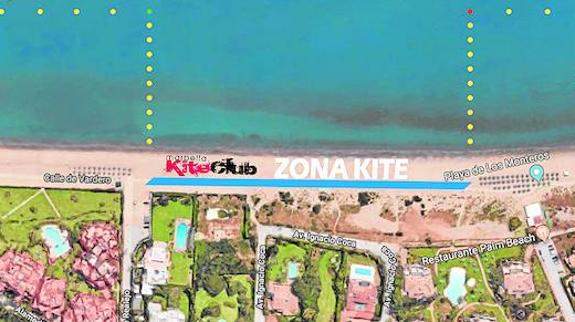 Marbella applies for permission to designate a specific kitesurfing area on one of its beaches