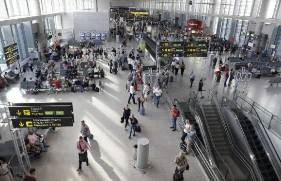 Malaga airport gains 7% of passengers in the first quarter of the year