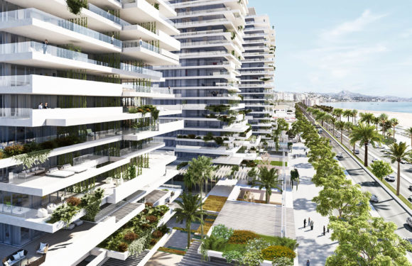 The luxury homes of the Thermal aspire to be the 'golden mile' of Malaga