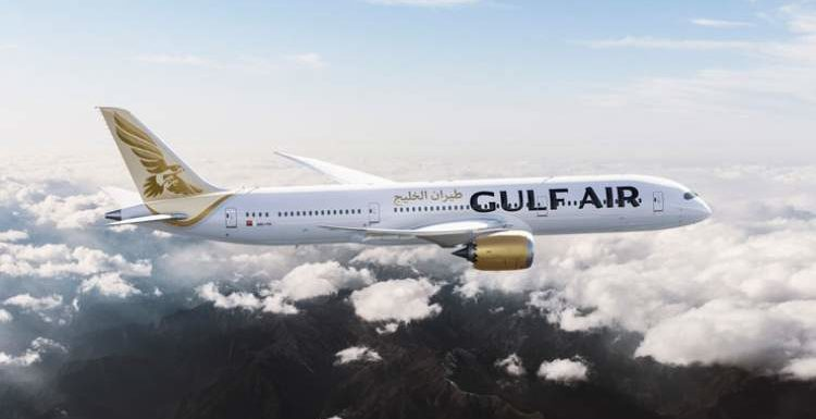 Water cannon salute to mark new Gulf Air service