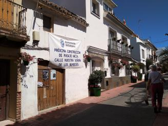 A passage will link the streets Portada and Our Lady of Los Remedios de Estepona